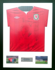 My signed Wales Shirt